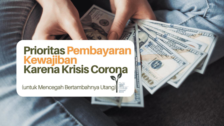 Prioritas Pembayaran Kewajiban Selama Corona