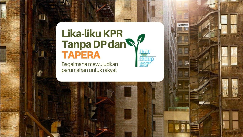 KPR Tanpa DP dan TAPERA