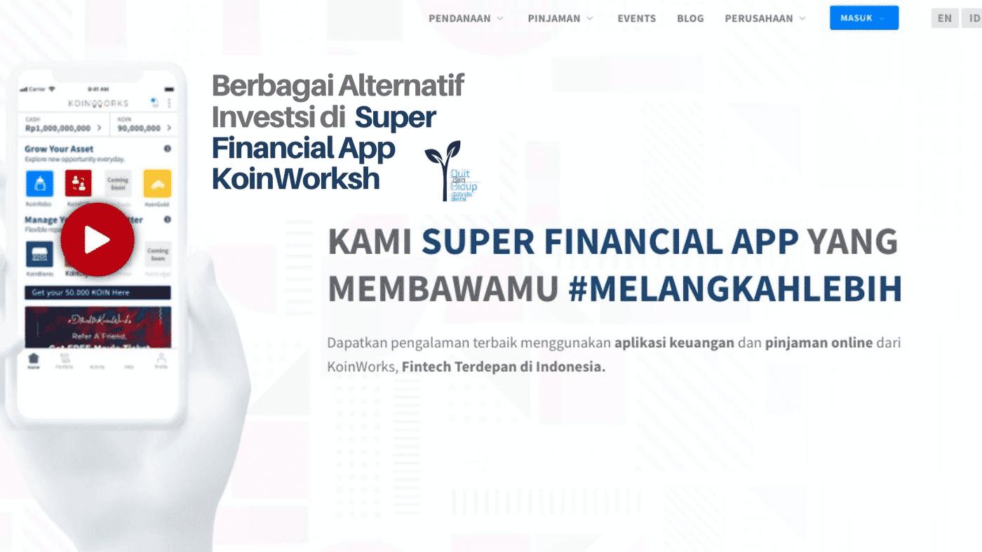Investasi di P2P Lending Terbaik - KoinWorks