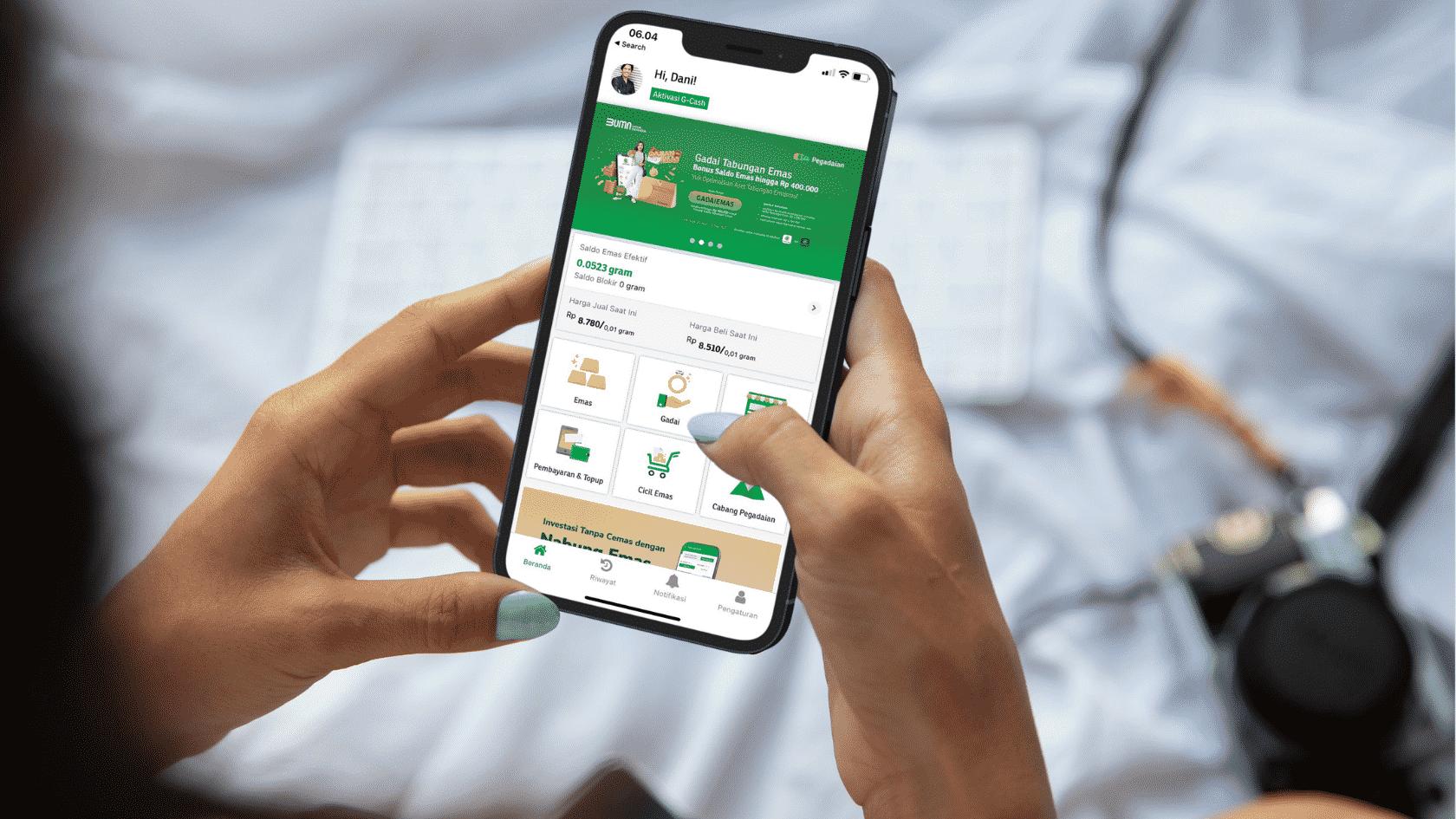 Investasi emas online di Pegadaian